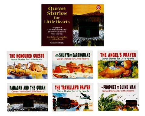 Quran Stories for Little Hearts Box 6 (6 Paperback Books)