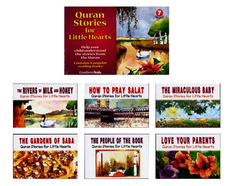 Quran Stories for Little Hearts Box 7 (6 Paperback Books)