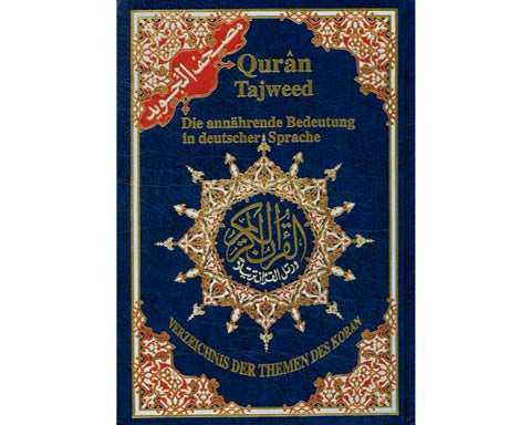 CORAN AL TAJWID. FRENCH Translation. Hardbound Avec Traduction des sens en francais