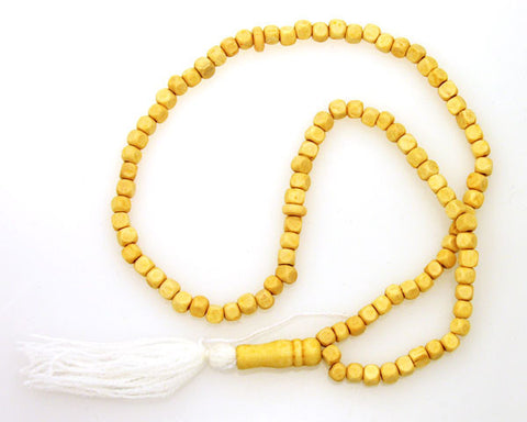 Handcrafted Dhikr Beads - Tasbeeh - White color