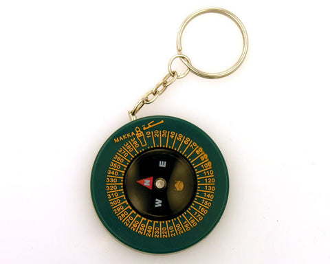 Compass - Qibla Key Ring