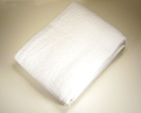 IHRAM - SET Of TWO Soft and Thick Towels.  Size of each towel about   44 x 90 inches