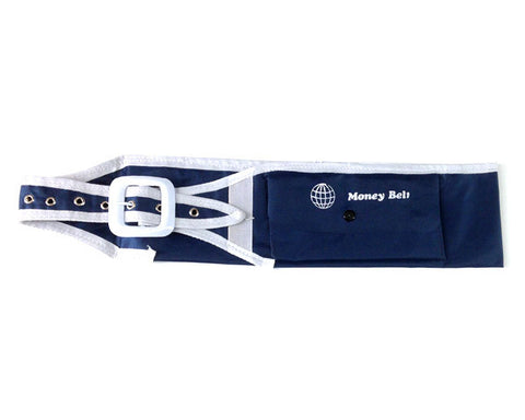 IHRAM MONEY BELT FOR HAJJ & UMRA.  Adjustable size (MEDIUM) suitable for waist sizes from 33 to 43 inches.