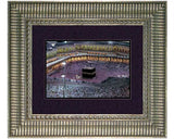 The  Kaba. Faux Canvas Frame.   Overall Size  19 x 16 inches