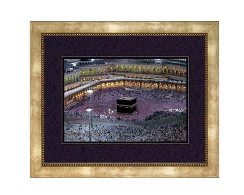 The  Kaba. Faux Canvas Frame.   Overall  Frame Size  24 x 20 inches