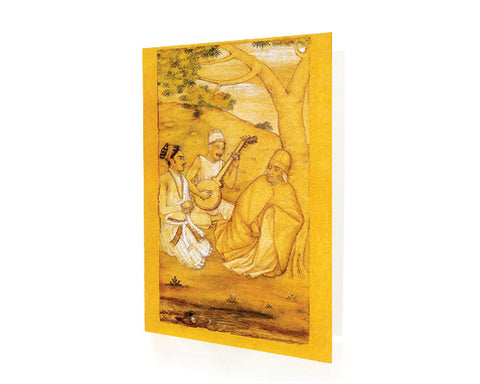 Mughal Prince Dara Shikoh With Sufis.  Box of 10 SUFI WISDOM Cards with Matching Envelops.