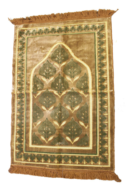 Set of 2 EXTRA LARGE Prayer Rugs. 480 THREAD COUNT for lifelong use. Superior Quality.