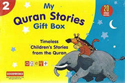 My Quran Stories Gift Box-2 (20 Quran Stories for Little Hearts Paper Back Books)