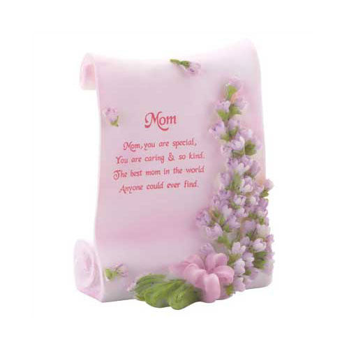 Poetic Mom Gift Plaque