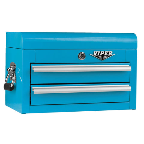 Viper Teal Tool Box 2 Drawer - Pinkoz