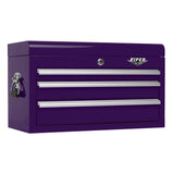 Viper Purple Tool Box 3 Drawer
