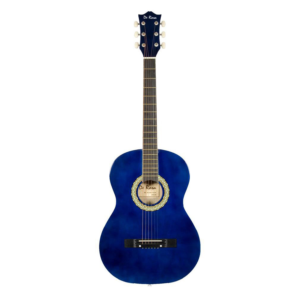 Blue De Rosa 38in Acoustic Guitar