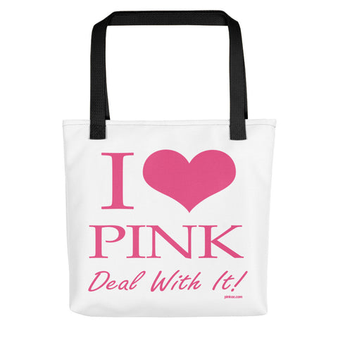 I Love Pink Tote bag - Pinkoz