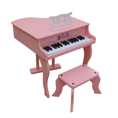 Pink Fancy Baby Grand Piano - Pinkoz