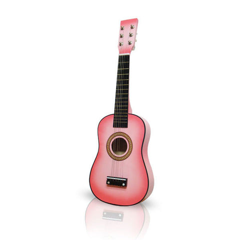 Pink Acoustic Guitar 23in