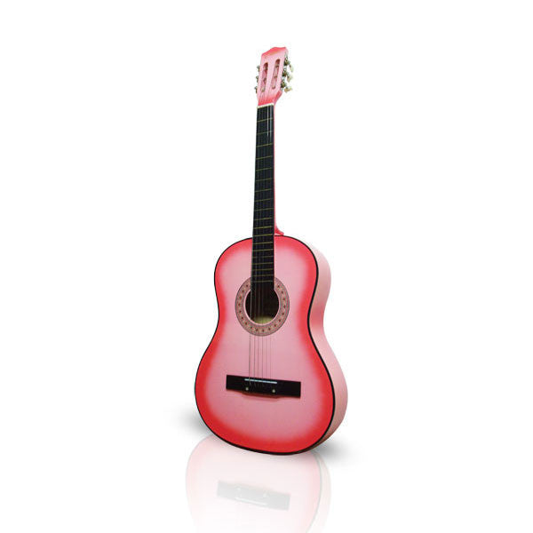 "Pink Guitar 38"" Acoustic"