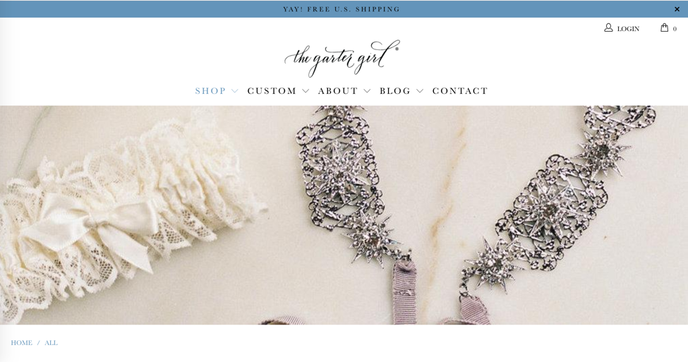 Design is in the Details for The Garter Girl's New Shopify Site