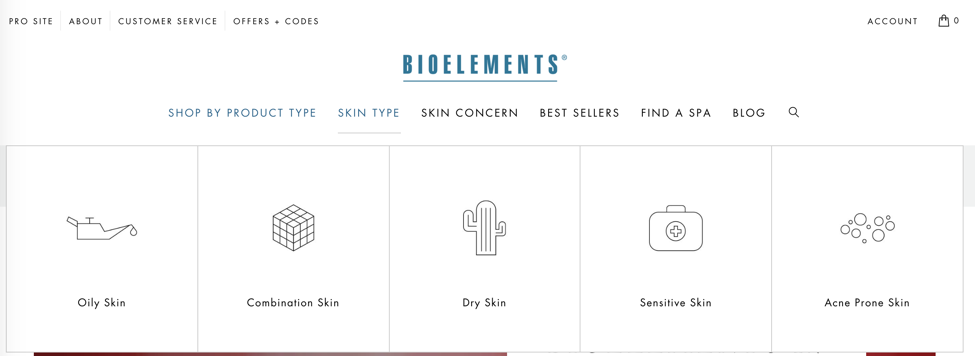 Bioelements custom functionality