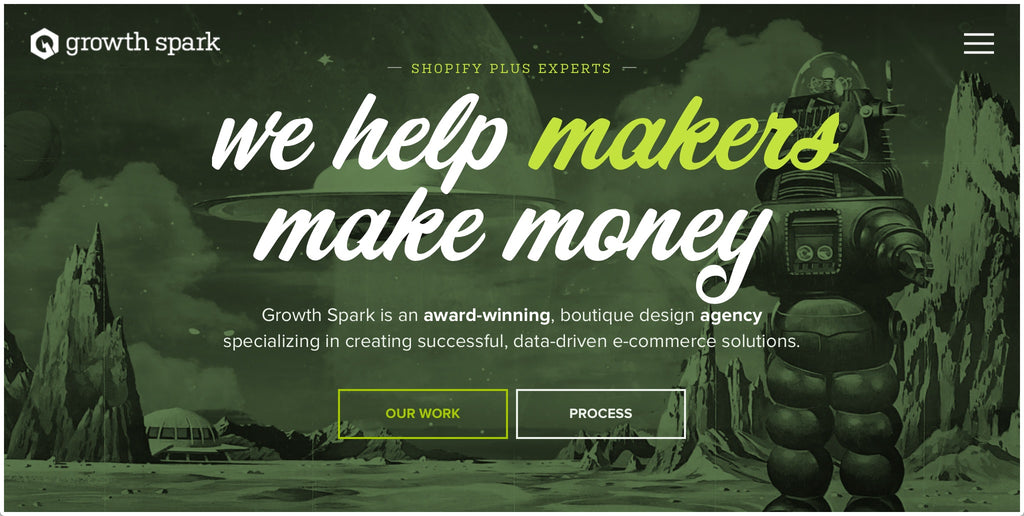 Growth Spark Homepage