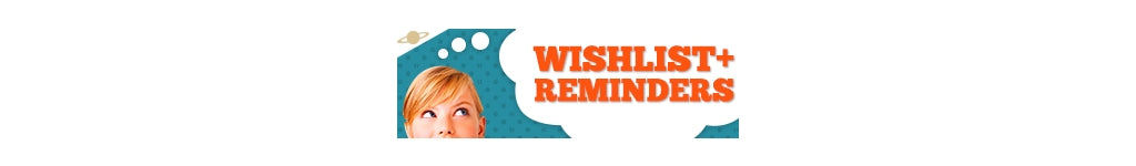 Wishlist + Reminder App Logo