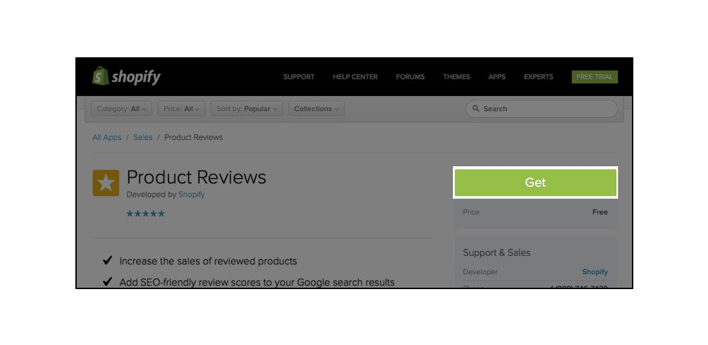 How To: Add Product Reviews to Shopify – Growth Spark