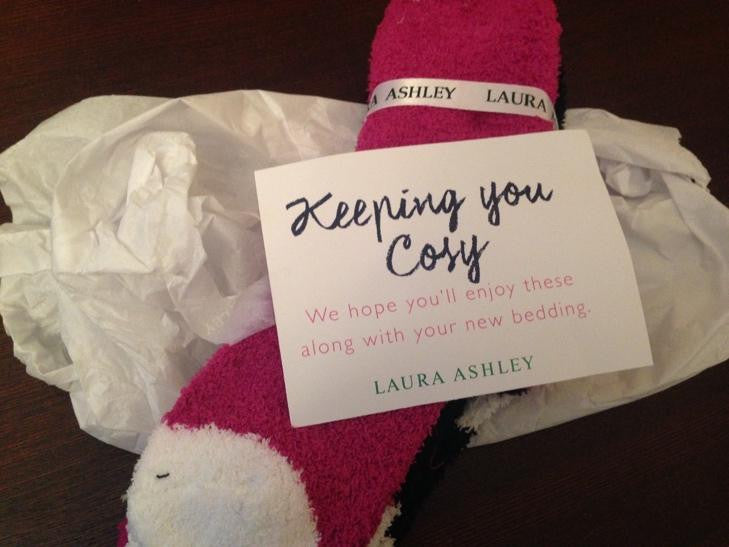 Laura Ashley Free Socks