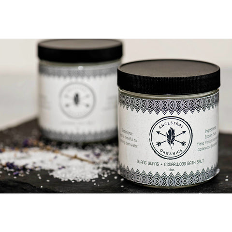 Ylang Ylang & Cedarwood Bath Salt