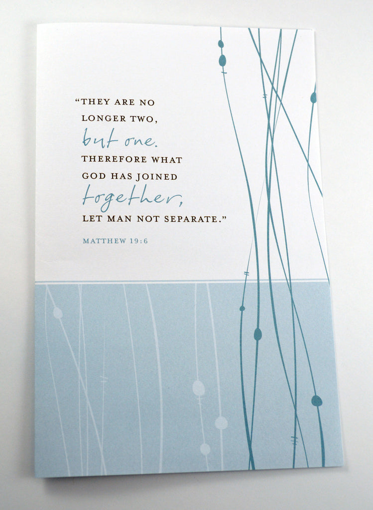 Matthew 19:6 Bulletins, Pack of 50