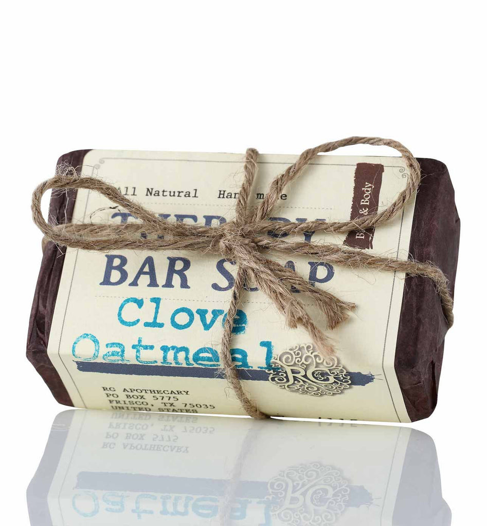 Therapy Bar Soap - Clove Oatmeal - Rose Rey - by RG Apothecary