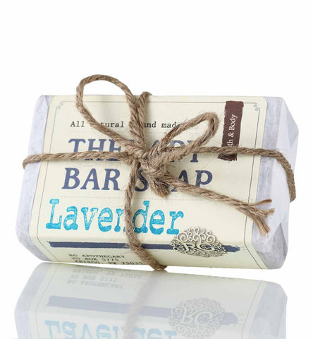 Therapy Bar Soap - Lavender - Rose Rey - by RG Apothecary