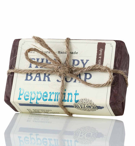 Therapy Bar Soap - Peppermint - Rose Rey - by RG Apothecary