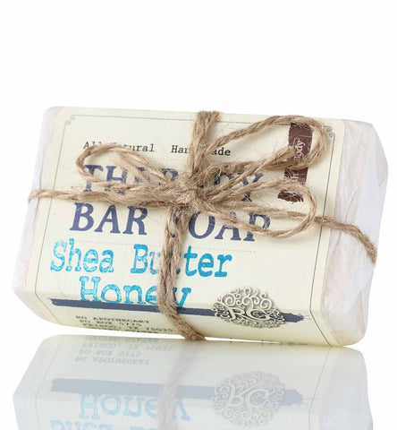 Therapy Bar Soap - Shea Butter Honey - Rose Rey - by RG Apothecary