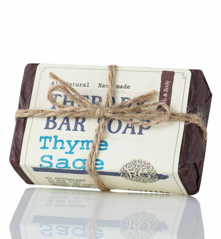 Therapy Bar Soap - Thyme Sage - Rose Rey - by RG Apothecary