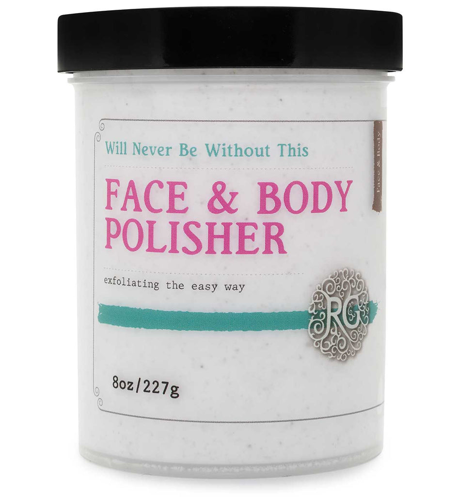 Face & Body Polisher - Rose Rey - by RG Apothecary