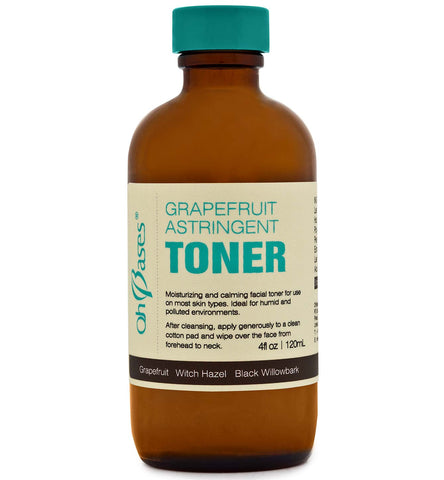 Grapefruit Astringent Toner - Rose Rey - by OhBases