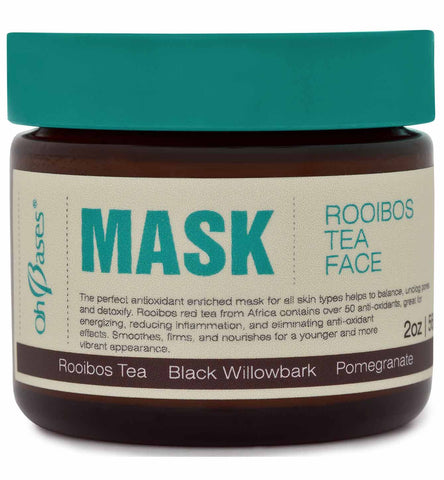 Rooibos Tea Face Mask - Rose Rey - by OhBases
