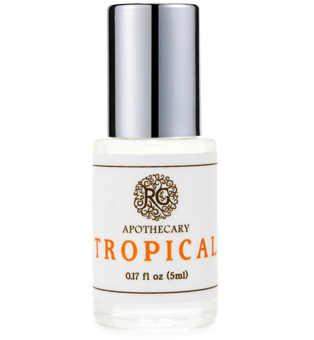 Natural Perfume Oil - TROPICAL - Rose Rey - by RG Apothecary