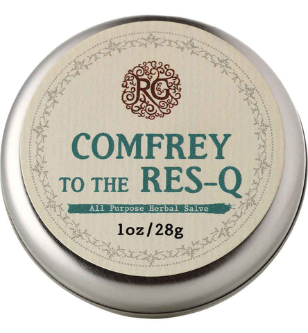Comfrey To The Res-Q - Healing Salve - Rose Rey - by RG Apothecary