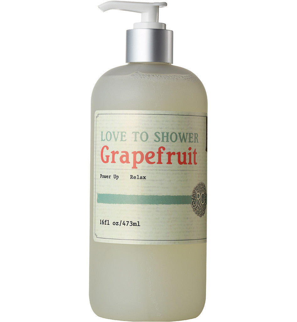 Love To Shower Grapefruit - Rose Rey - by RG Apothecary