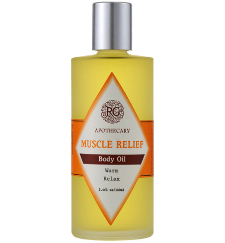 Body Oil - Muscle Relief - Rose Rey - by RG Apothecary