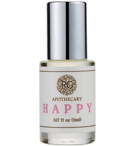 Natural Perfume Oil - HAPPY - Rose Rey - by RG Apothecary