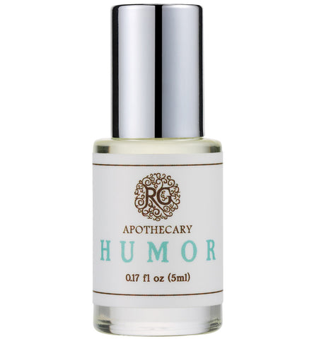 Natural Perfume Oil - HUMOR - Rose Rey - by RG Apothecary