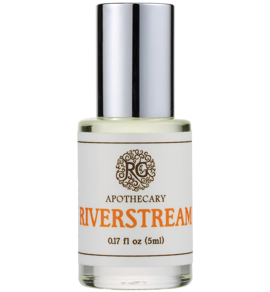 Natural Perfume Oil - RIVERSTREAM - Rose Rey - by RG Apothecary
