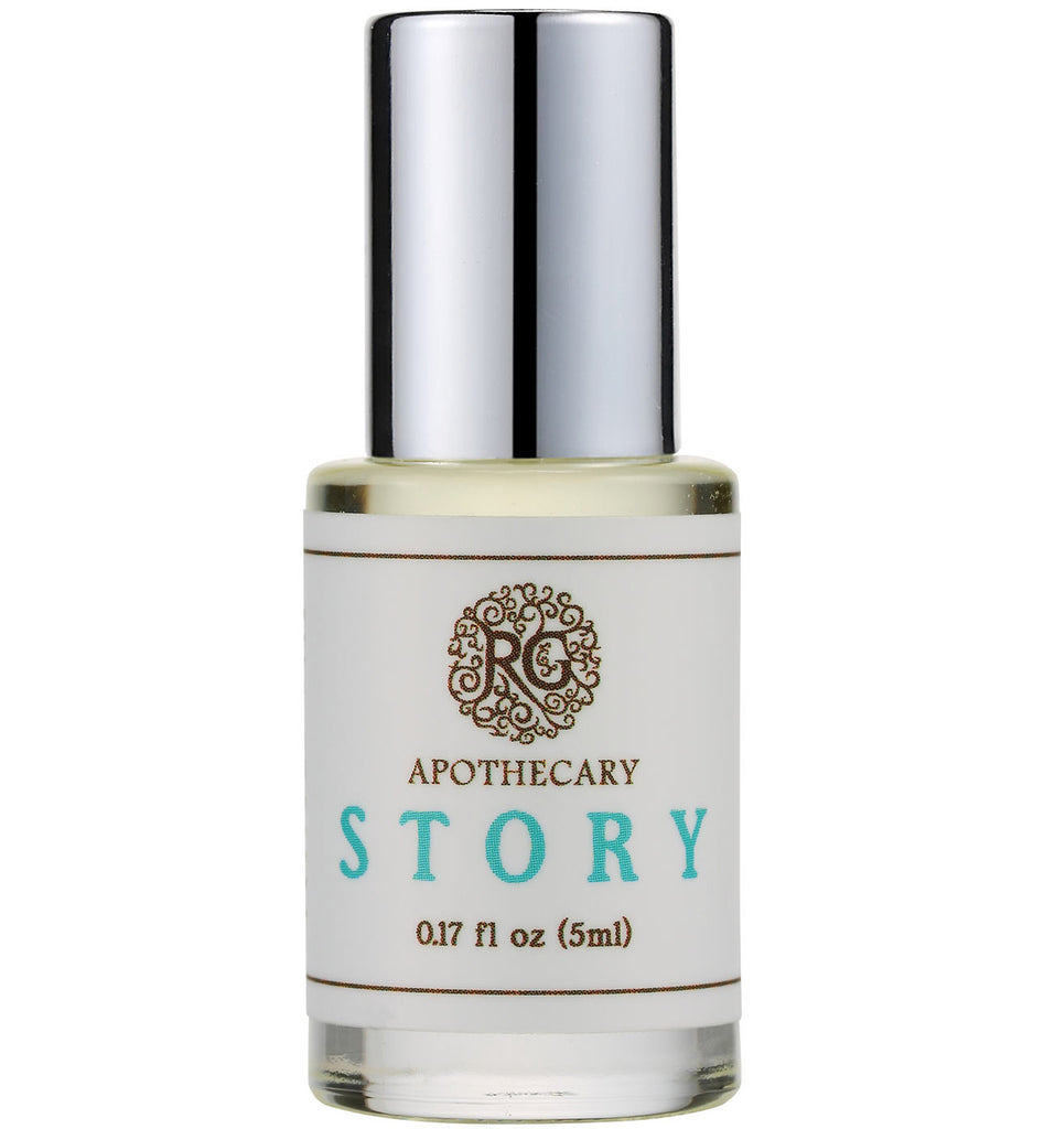 Natural Perfume Oil - STORY - Rose Rey - by RG Apothecary