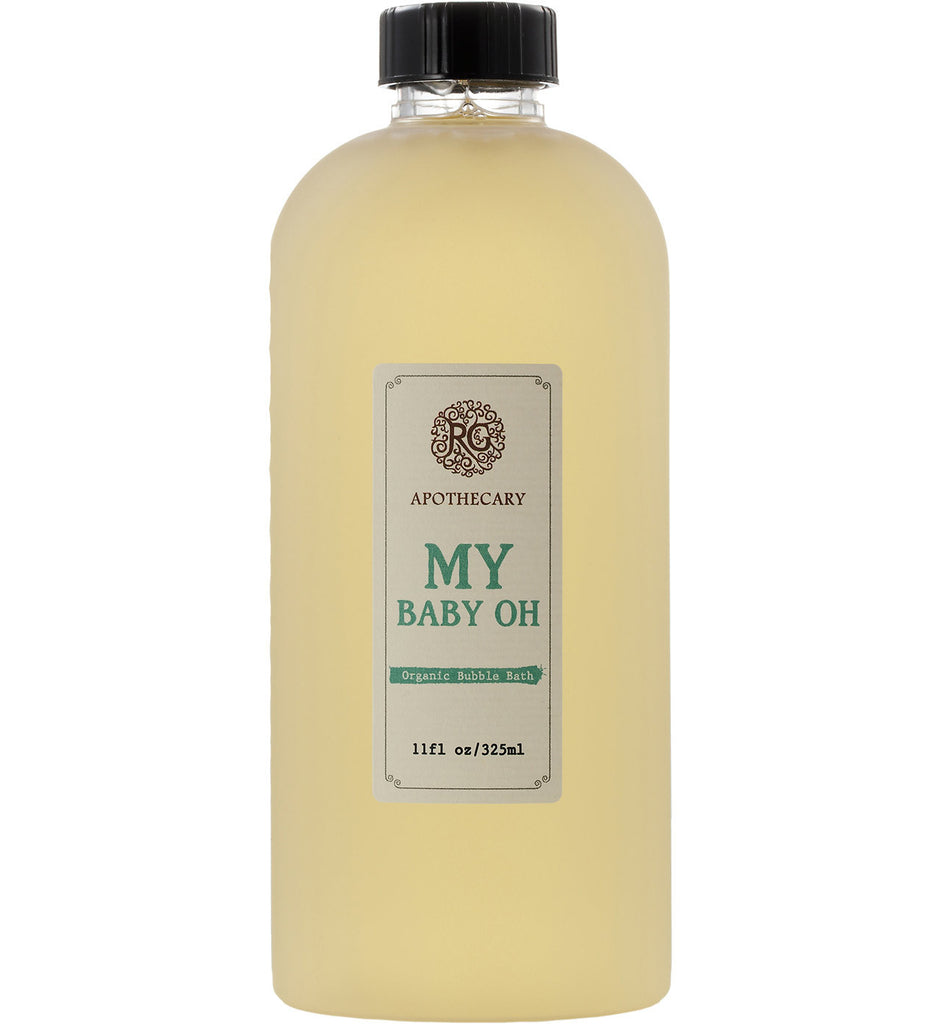 Organic Bubble Bath - My Baby Oh - Rose Rey - by RG Apothecary