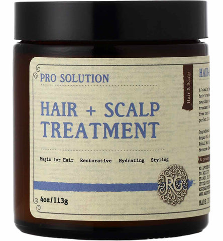 Pro Solution - Hair + Scalp Treatment - Rose Rey - by RG Apothecary