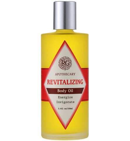 Body Oil - Revitalizing - Rose Rey - by RG Apothecary