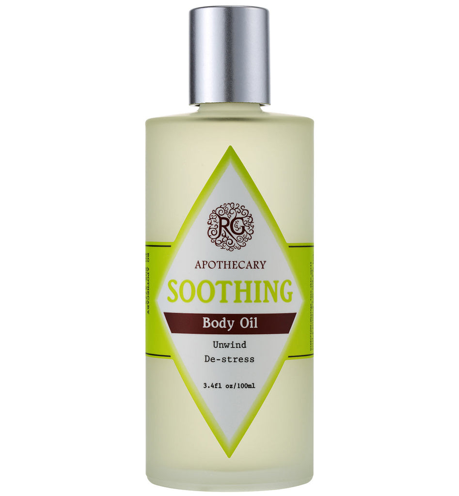 Body Oil - Soothing - Rose Rey - by RG Apothecary