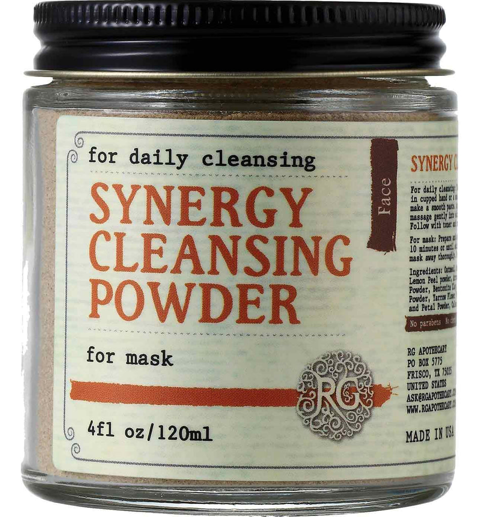 Synergy Cleansing Powder - Rose Rey - by RG Apothecary