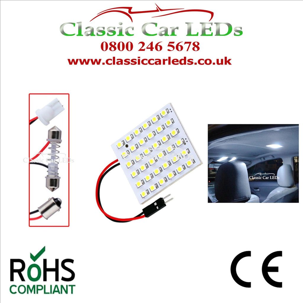 CARGO BAY / INTERIOR LED DOME LIGHT UPGRADE 720 Lumen INTERIOR LIGHTS LED PANEL